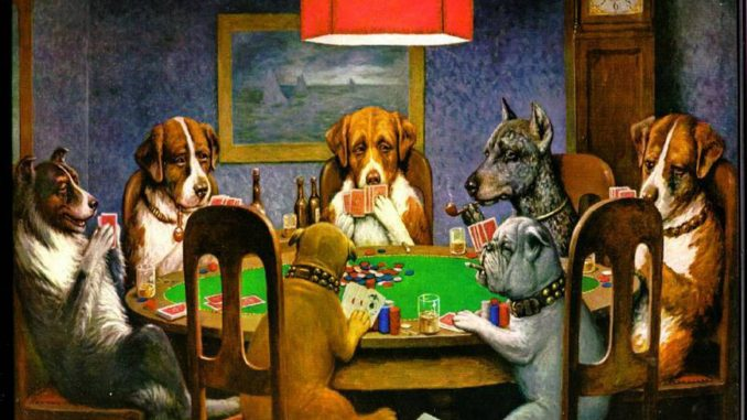 life of poker-pups