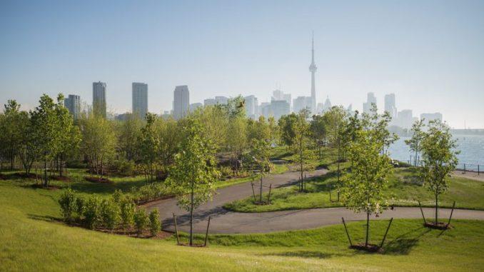 Toronto from Trillium Park